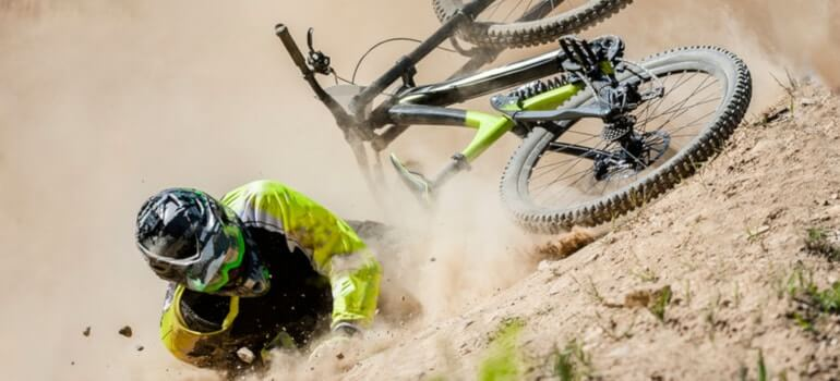 Recover from Mountain Bike Crash